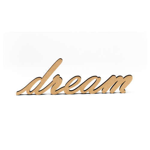 Wood-Dream Script-3/8""