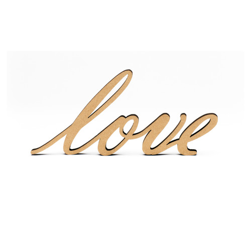 Wood-Love Script-3/8""