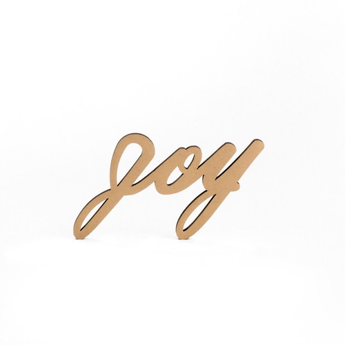 Wood-Joy Script-3/8""