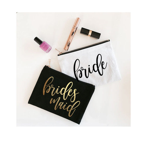 Cosmetic Bag for Bridal Party