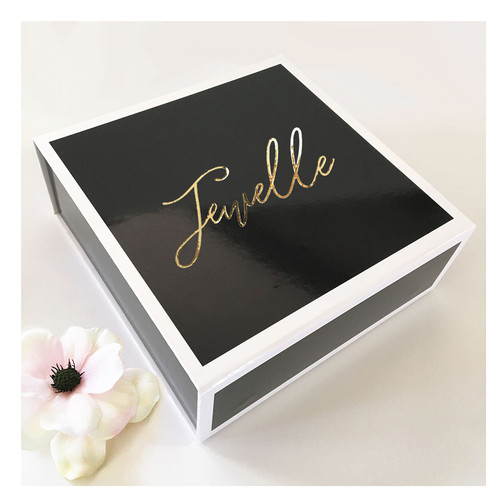 Monogram Gift Box - Black & White
