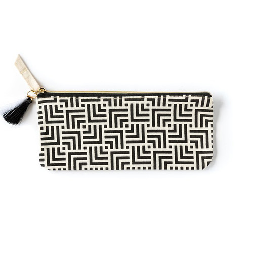 Accessory Pouch-Black & White