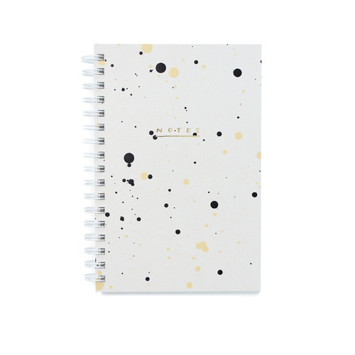 Moglea - Notebook - Painted Pebble Drip