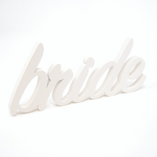 Word Art-Bride (6 Colors)
