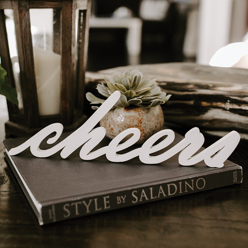 Word Art - Cheers (6 Colors)