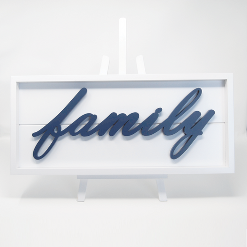 Framed Stacks - Family