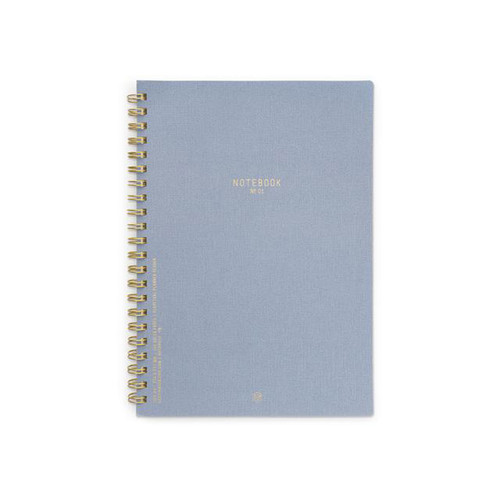 DesignWorks Textured Notebook in Blue
