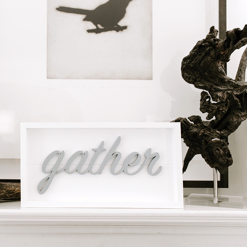 Framed Stacks - Gather