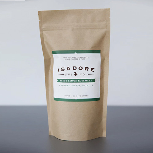 Isadore Nut's Zesty Lemon Rosemary Nut Mix