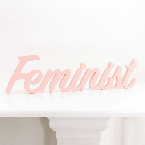 Word Art - Feminist (6 Colors)