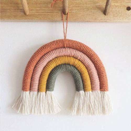 Rainbow Rope Art - 4 Strand