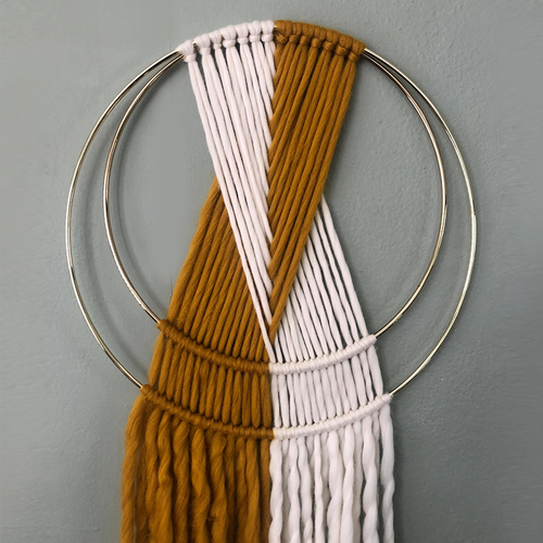 Double Hoop Weave Kit