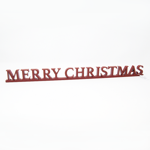 Word Art - Merry Christmas
