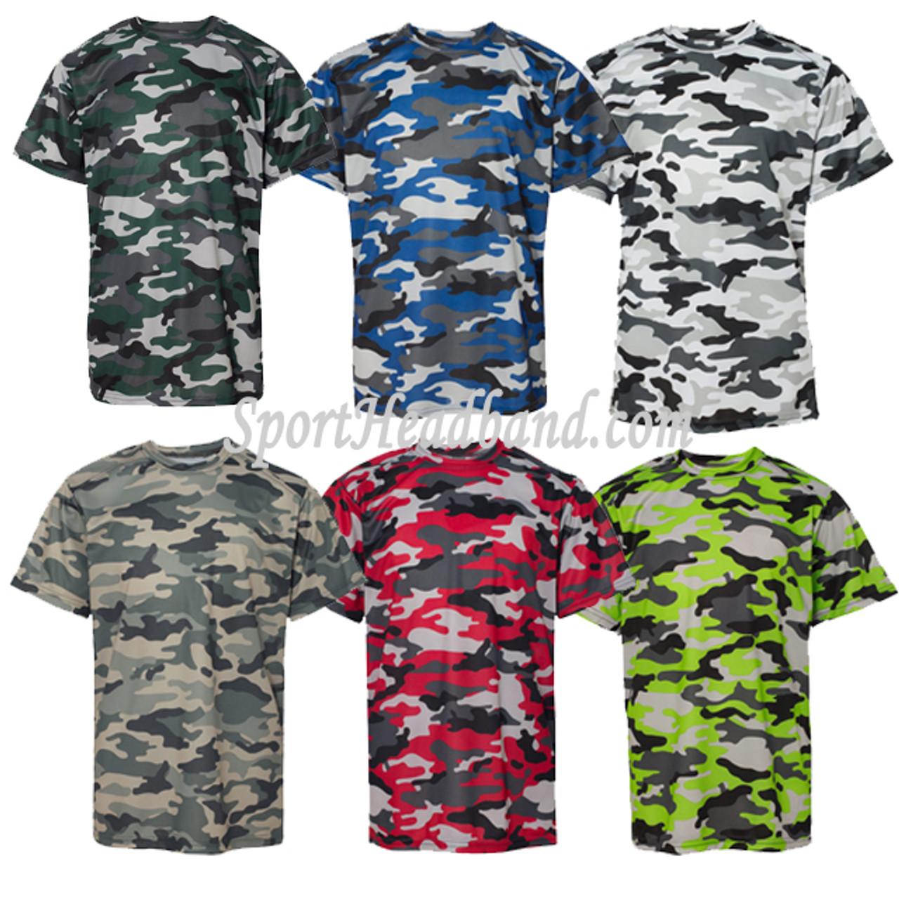 f32ad2fc Youth Camouflage Short Sleeve Tee Shirt - SportHeadband.com
