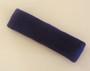 Dark purple terry sport headband for sweat