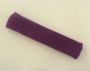 Purple long sport headband terry cloth for sweat