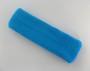 Large sky blue sports sweat headband pro