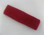 Large dark red sports sweat headband pro
