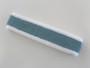White old-blue viridian white striped tennis headband terry long