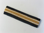 Navy gold with white lines basketball headband pro