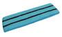 Bright sky blue basketball headband pro with 2 black stripes