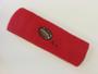 Red custom terry head band sports sweat