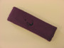 Purple custom head band sports sweat terry