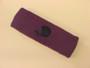 Purple custom sport sweat head band terry