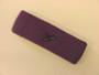 Purple custom sport sweat headband terry