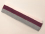 Silver purple white striped headband sports pro