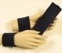 Black headband wristband set for sports sweat
