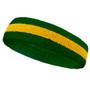 Green yellow green headbands sports pro