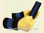 Black Blue Black sports sweat headband wristbands Set