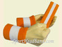 Orange White Orange sports sweat headband wristbands Set
