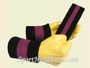 Black Purple Black sports sweat headband wristbands Set