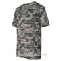 Sport Adult Unisex Short Sleeve Camo Tee Shirt