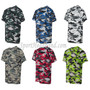 Youth Camouflage Short Sleeve Tee Shirt side view