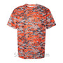 Orange Badger Men's Short Sleeve Sublimated Camo Tee