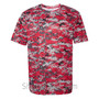 Red Badger Men's Short Sleeve Sublimated Camo Tee