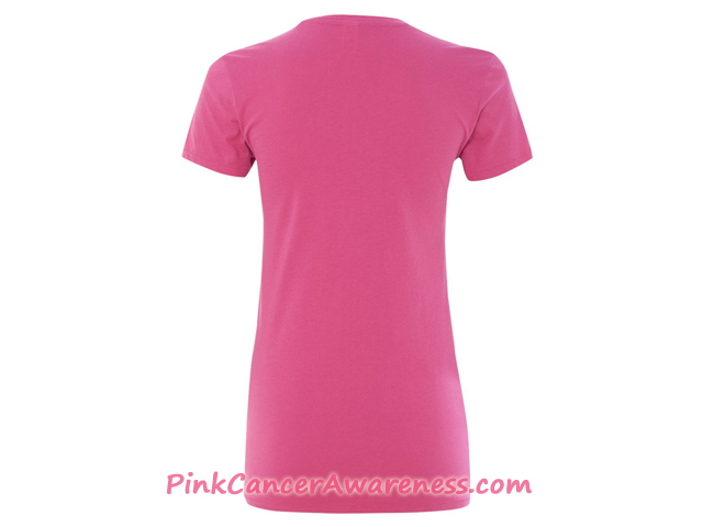 Ladies' Eco-Jersey Ideal Tee Back View