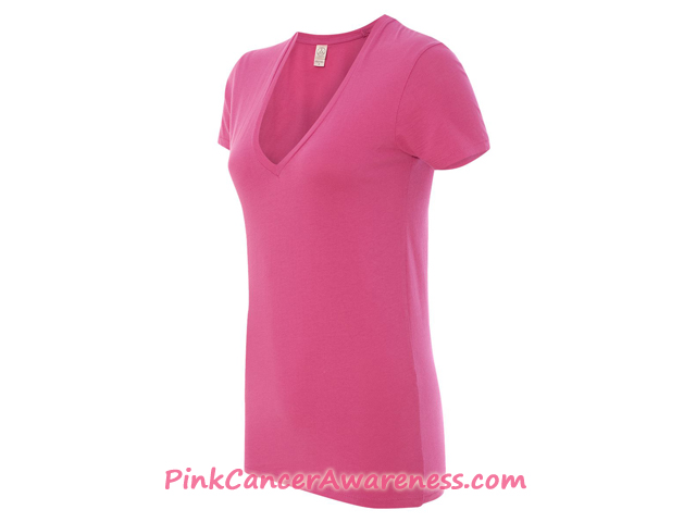 Ladies' Eco-Jersey Ideal Tee Side View