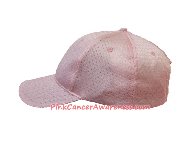 Light Pink Pro Mesh Low Profile Cap with Pre-curved visor