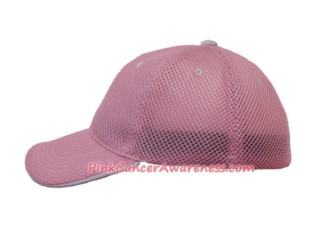 Pink Constructed Cooldry Sandwich Foam Mesh Just Fit Cap