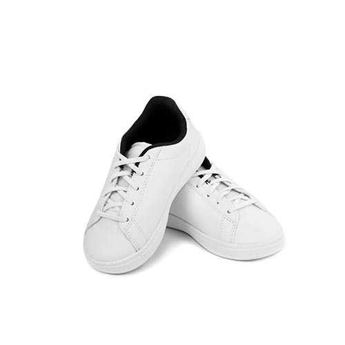 White Rubber Shoes for Kids