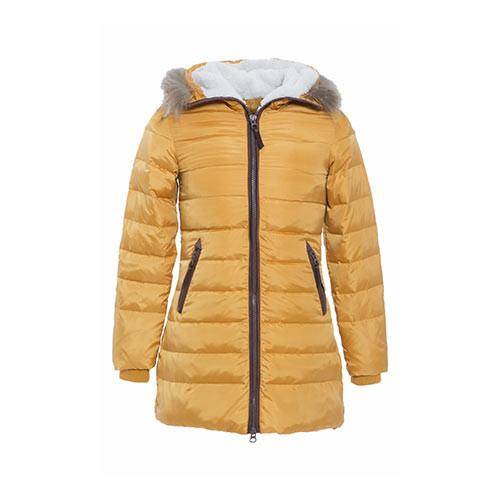 Orange Winter Jacket for Women