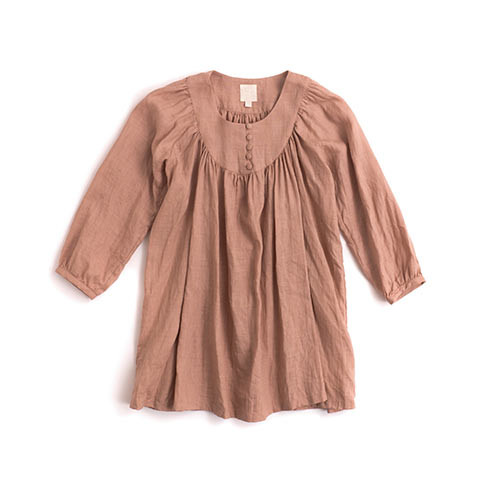 Rose Pink 3/4 Blouse for Women