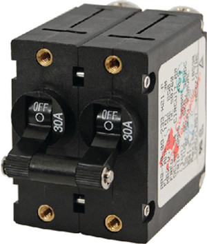 BLUE SEA SYSTEMS 7236 CIRCUIT BREAKER AA2 20A BLACK