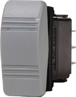 BLUE SEA SYSTEMS 8220 ROCKER SWITCH DPDT ON-OFF-ON