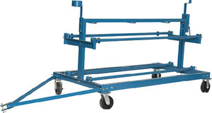 BROWNELL BOAT STANDS SWD1 SHRINK WRAP DOLLY HD STEEL