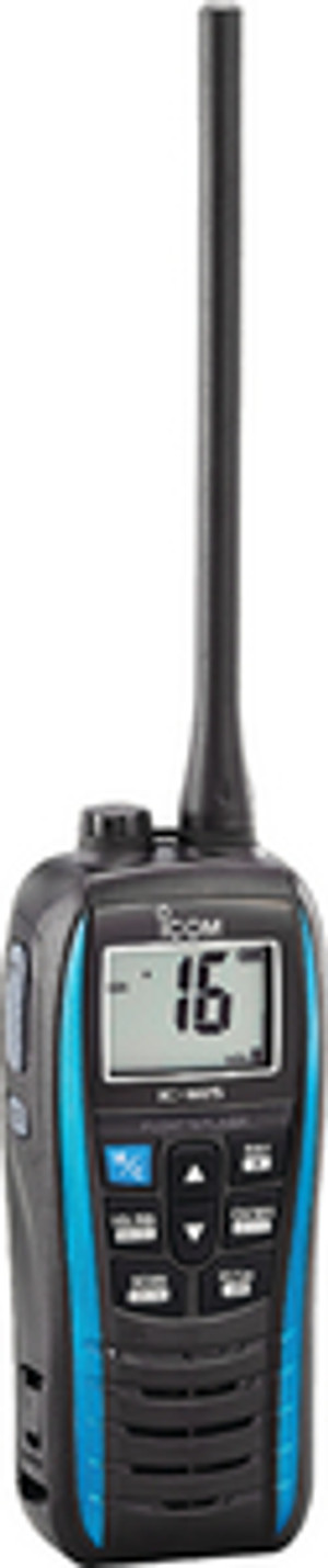 ICOM M25BLUE M25 BLUE 5W FLOATING HH METALL